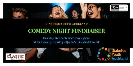 Comedy Night - Diabetes Youth Auckland Fundraiser tickets