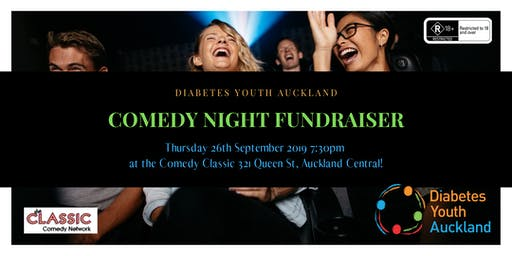 Comedy Night - Diabetes Youth Auckland Fundraiser
