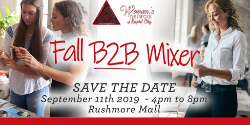 Business 2 Business Mixer - September 11th - Women's Network of Rapid City
