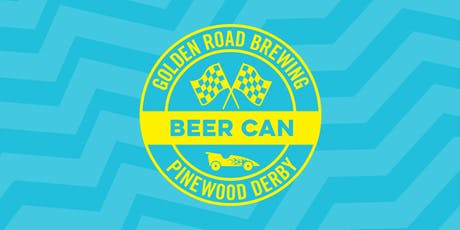 Golden Road Beer Can Pinewood Derby tickets