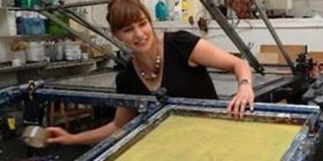 ARThub08 Anna Marrow:  Introduction to Screen Printing (2 week course) tickets