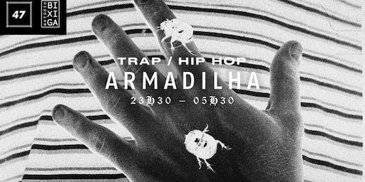 23/08 - FESTA: ARMADILHA | TRAP, BOOM BAP E MAIS NO ESTÚDIO BIXIGA