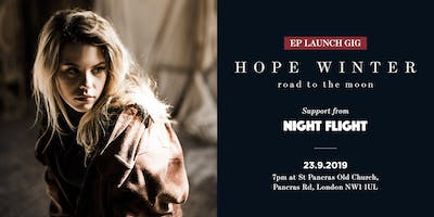 Hope Winter: EP Launch with support from Night Flight