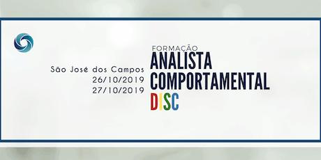 10ª FORMAÇÃO EM ANALISTA COMPORTAMENTAL DISC ingressos