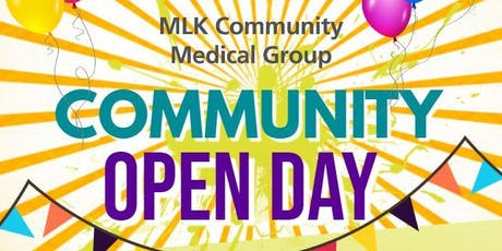 Community Open Day tickets