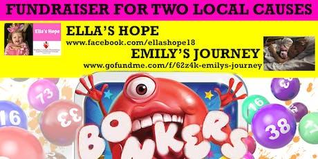 Mr Bonkers Bingo Fundraiser - Ella's Hope - Emily's Journey tickets