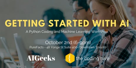 Getting Started with AI: A Python Coding & Machine Learning Workshop tickets