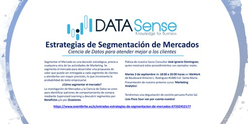 Estrategias de Segmentación de Mercados.