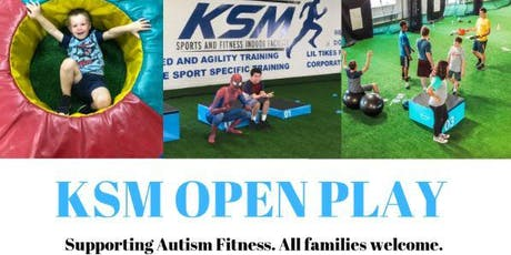 Open Play Date at KSM Sports and Fitness Indoor Facility  tickets