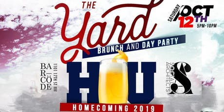 HU HOMECOMING - THE YARD DAY PARTY   tickets