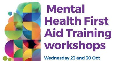 Mental Health First Aid training (2 days)