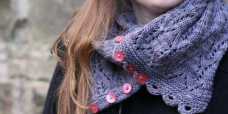 Knitting Techniques: Gothic Lace Scarf tickets
