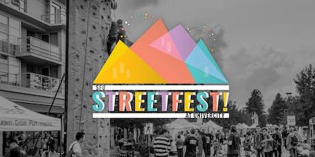 SFU StreetFest at UniverCity 2019 - Exhibitor/Vendor Registration tickets