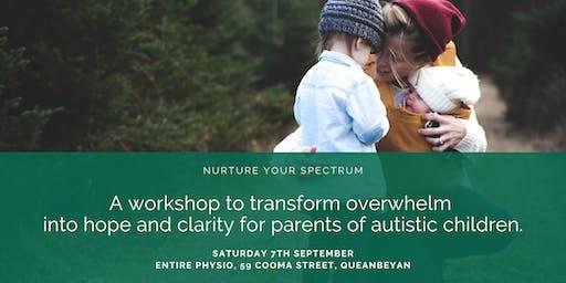 Nurture your Spectrum – a workshop for parents of Autistic kids