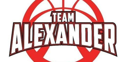 Team Alexander Basketball Spring/Summer Sports Banquet
