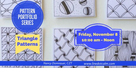 Pattern Portfolio November Class tickets