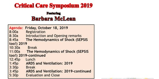 AACN-GLC Critical Care Symposium 2019