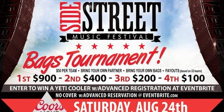 Side Street Bags Tournament tickets
