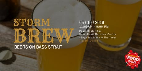 STORM BREW | Beers on Bass Strait tickets