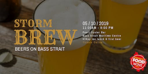 STORM BREW | Beers on Bass Strait
