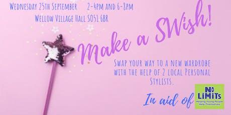 Make A Swish (Evening ticket 6-8pm) tickets