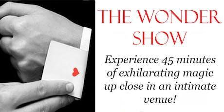 The Wonder Show tickets