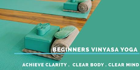 Beginners Vinyasa Yoga  tickets