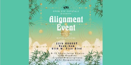 Open Eye Crystals: ALIGNMENT EVENT tickets