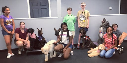 Special Needs Painting with Pups