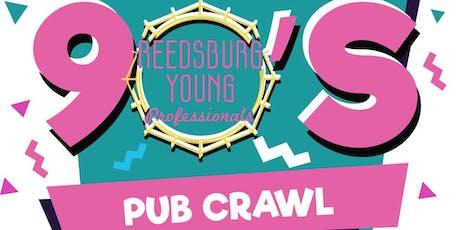Reedsburg 90s Pub Crawl tickets