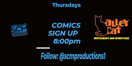 Upper Room Comedy -Open Mic Thursdays at Alley Cat tickets