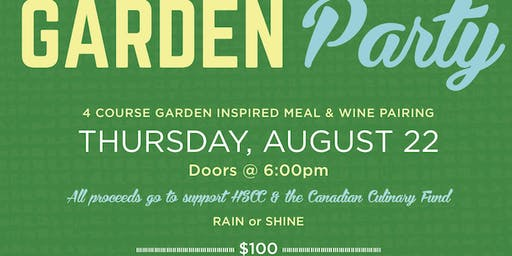 4th Annual Workshop Eatery Garden Party