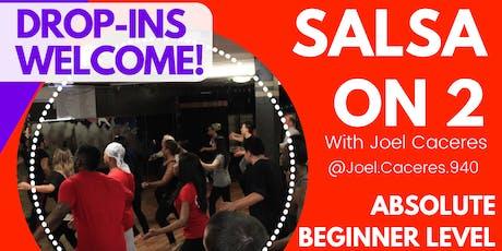 Salsa Beginner Group Class Mondays! tickets
