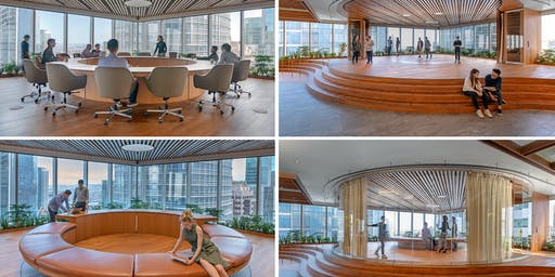 2019 Architecture + the City // Ohana Floors Tour: Salesforce East and Salesforce Tower