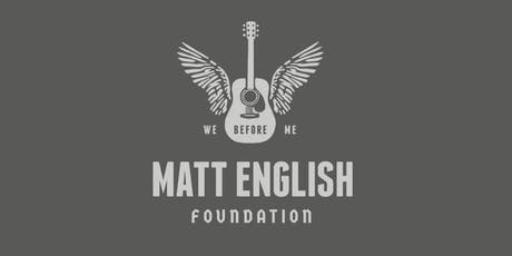 The Matt English Foundation Inaugural Golf Outing tickets