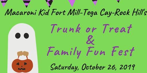 Macaroni Kid Fort Mill- Tega Cay-Rock Hill Trunk or Treat & Family Fun Fest