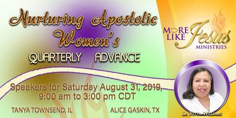 Nurturing Apostolic Women's Quarterly Advance tickets