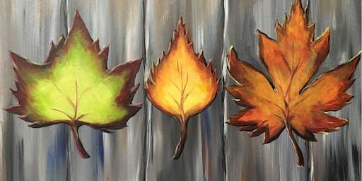 Autumn Leaves at Meadow Lake Resort