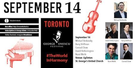 Michael Berkovsky, Conrad Chow & friends ✦ George Enescu Festival ✦ Toronto tickets
