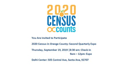 OC Census Community Table: Quarterly Expo tickets