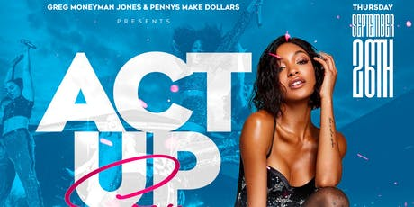 ACT UP SZN (UNCC CHARLOTTE HOMECOMING KICKOFF) W/ SPECIAL GUEST CELEBRITY tickets