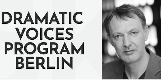 Dramatic Voices Program Presents: Masterclass with Eric Schneider