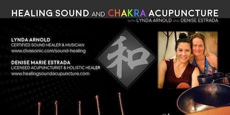 Healing Sound & Chakra Acupuncture tickets