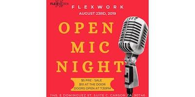 Flexwork Open Mic Night