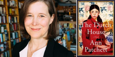 Novelist Ann Patchett & The Dutch House tickets
