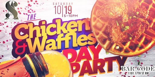 CHICKEN & WAFFLES DAY PARTY