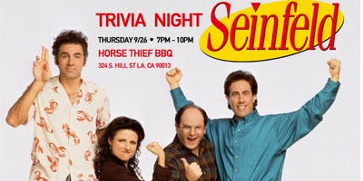Seinfeld Trivia Night!