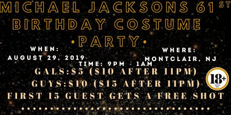 Michael Jackson's 61st Birthday Costume Party tickets