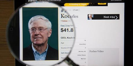 Inside the Koch Empire tickets