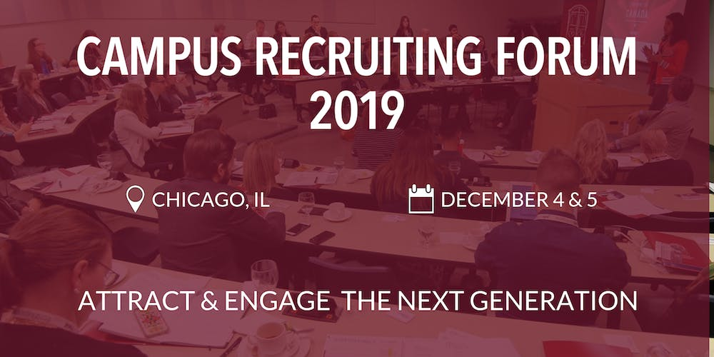 Campus Recruiting Forum 2019 - Chicago, IL Registration, Wed